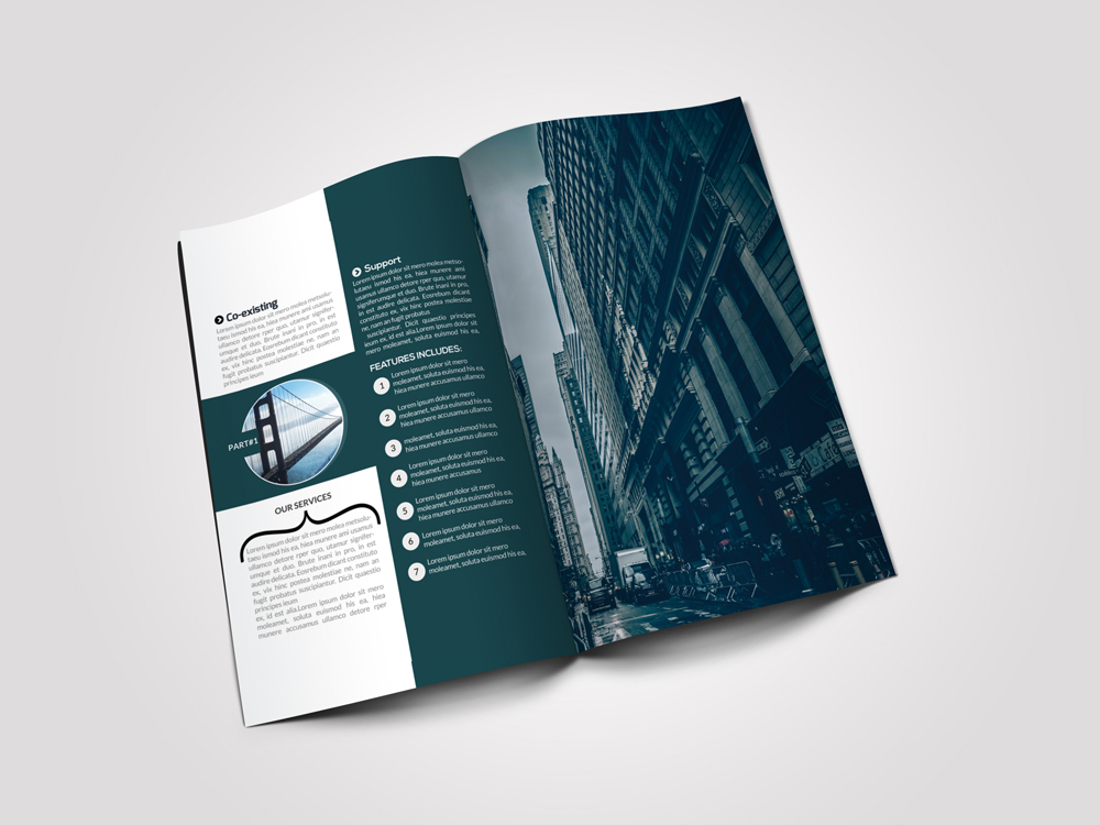 Business Solution Bifold Brochures example image 3