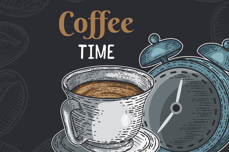 15 designs - Coffee restaurant brochure vector, coffee shop example image 4