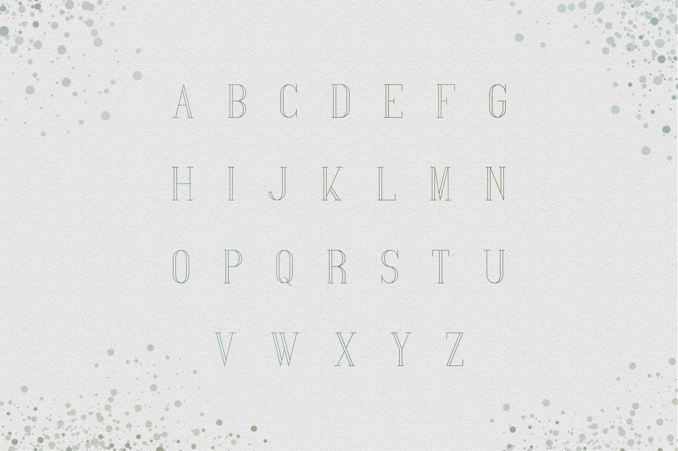 [Spring Vibes] Splendor Font example image 9