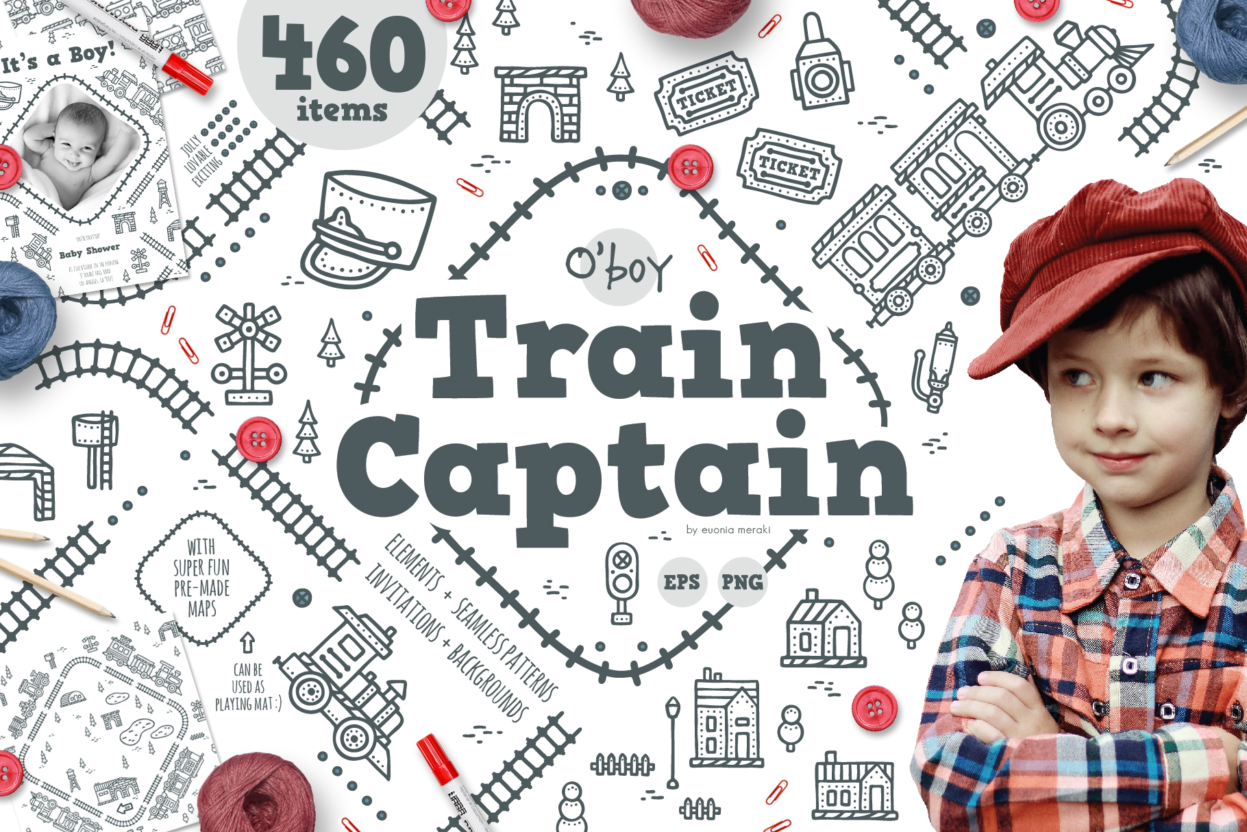 O' boy - Train Captain example image 1