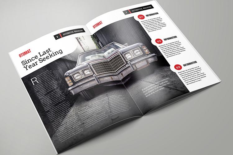 Automotive Magazine Template - Otomat example image 4