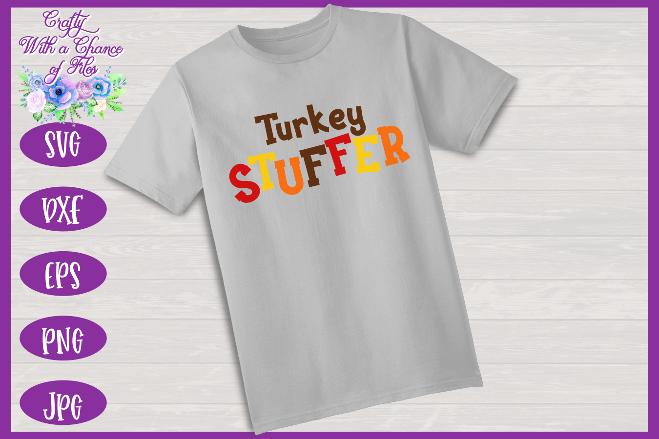 Thanksgiving SVG | Turkey Stuffer SVG | Funny Dad to Be SVG example image 2