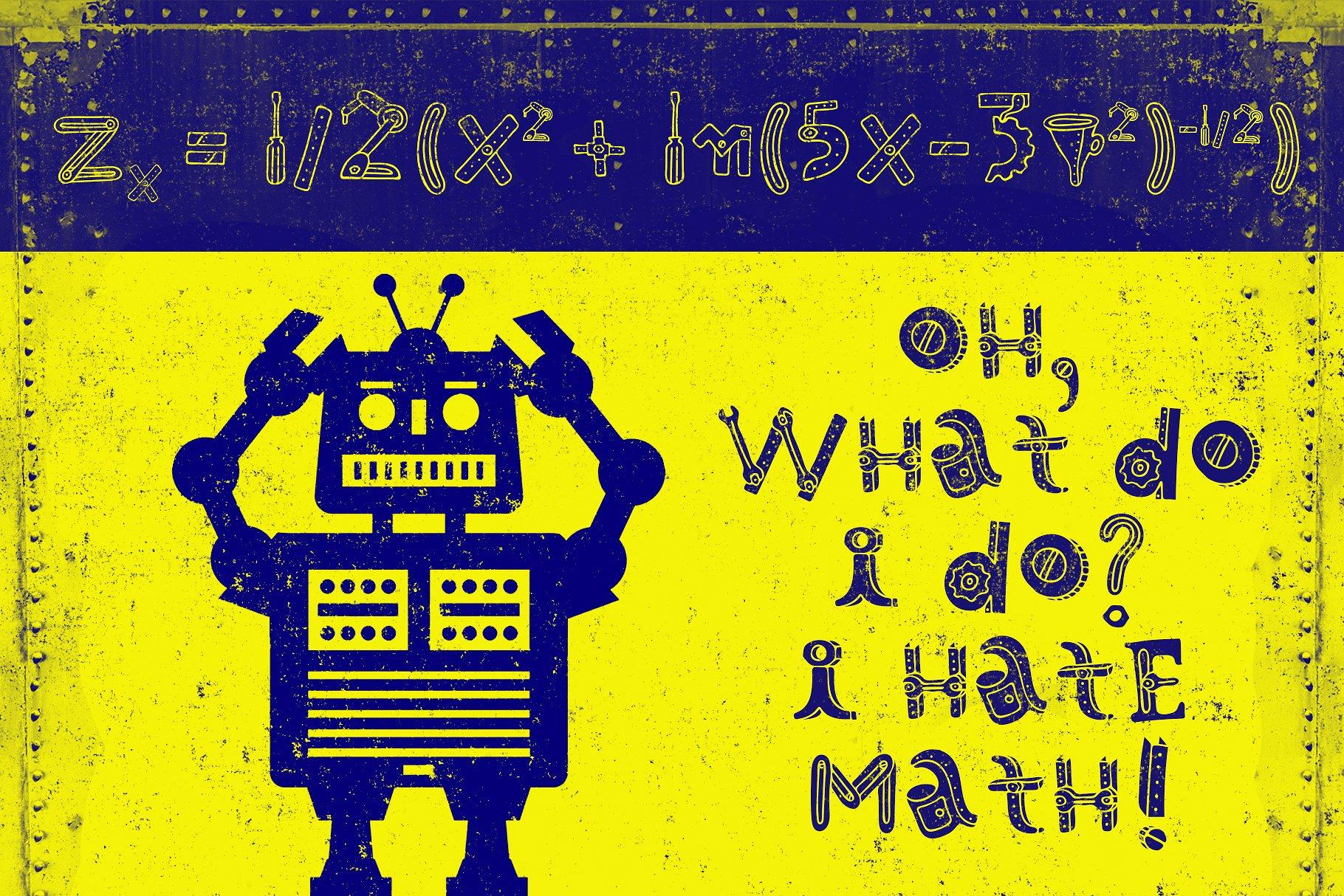 Robotikka Typeface example image 6