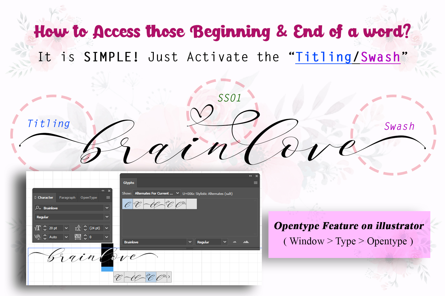Brainlove - Beautiful Script example image 8