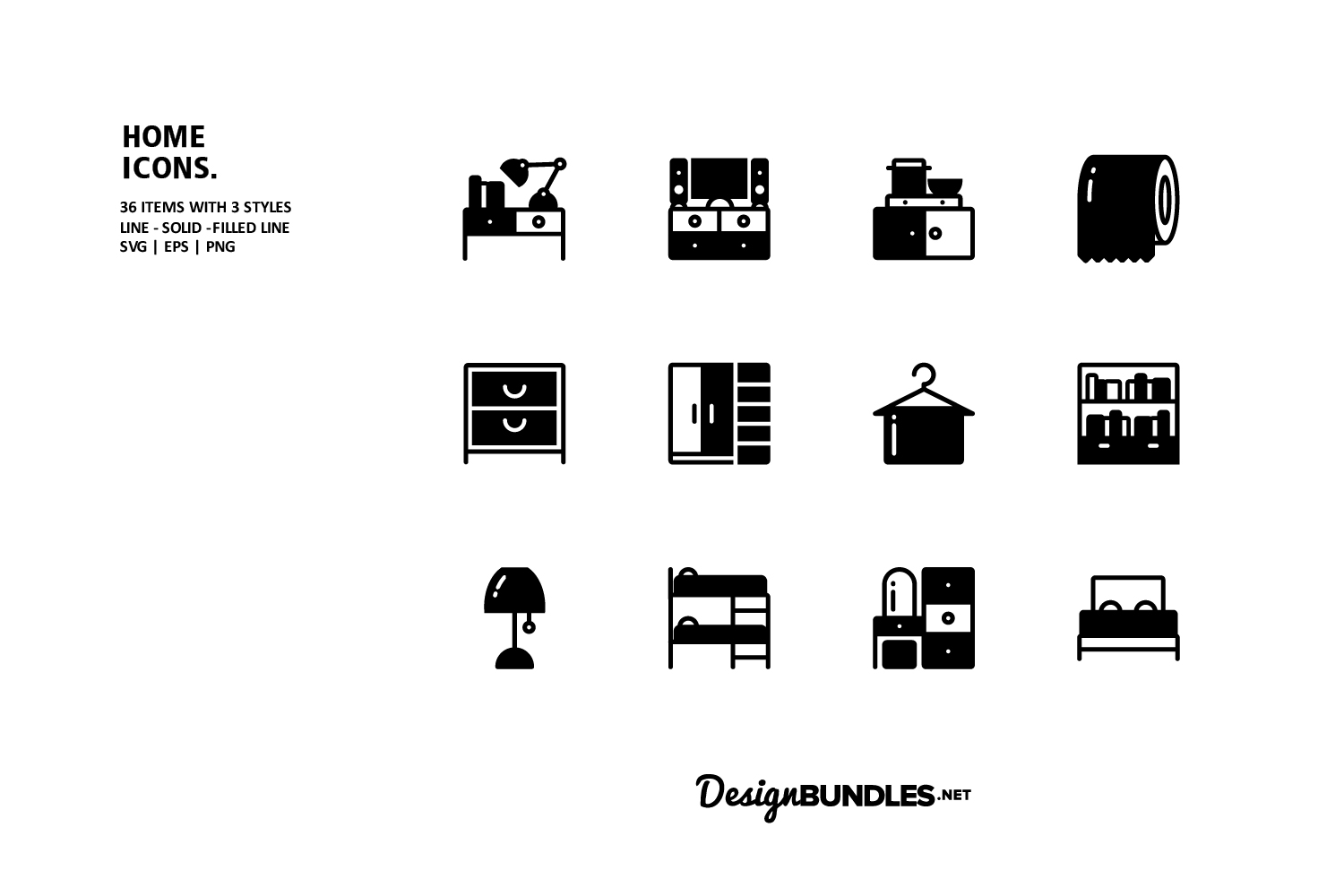 Home Icons example image 3
