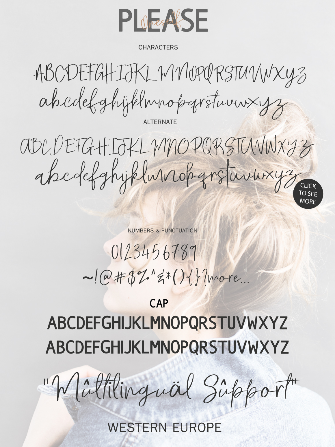 Please Oneself Font Duo example image 4