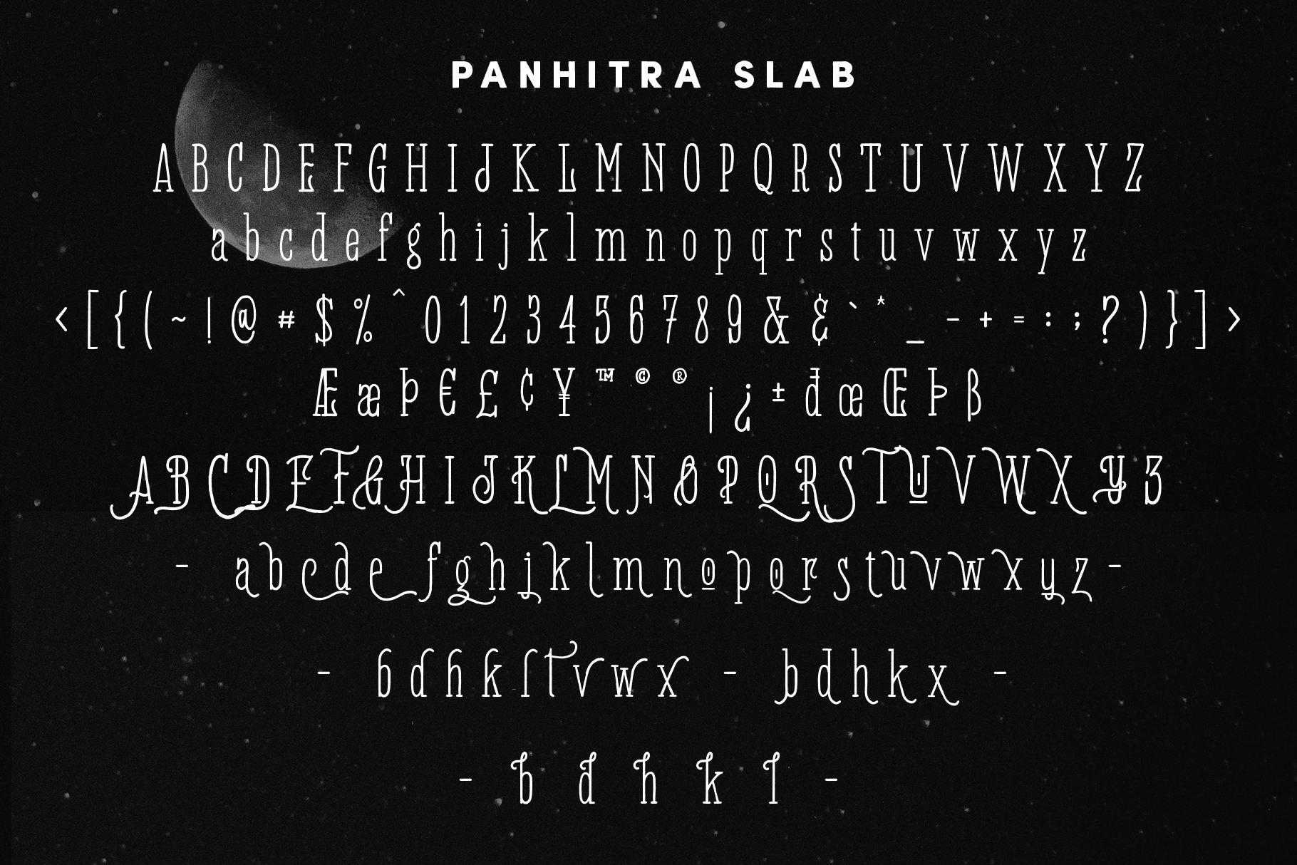 Panhitra Font Family example image 7