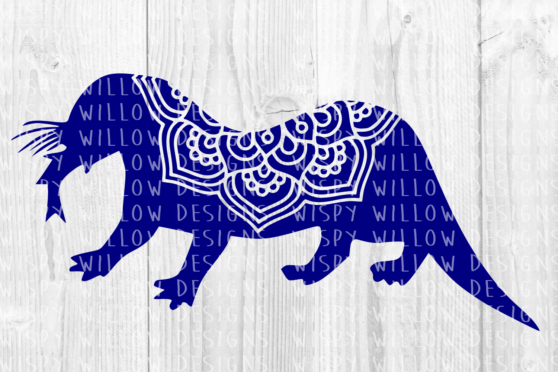 34 File Huge Mandala Animal SVG Cut File Bundle example image 29