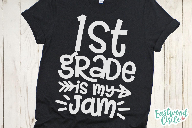 School Is My Jam SVG Bundle - Back to School Cut Files example image 5