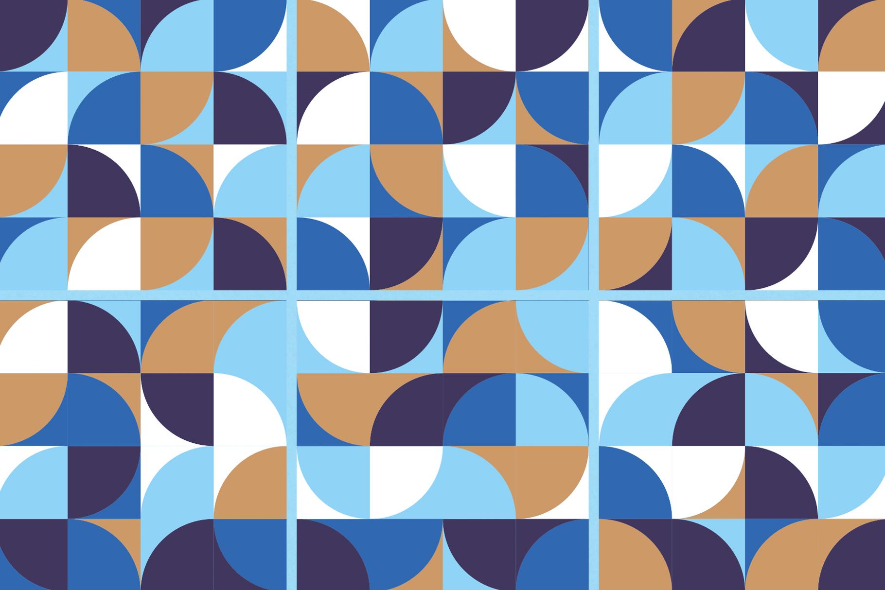Geometric Shapes Patterns example image 5