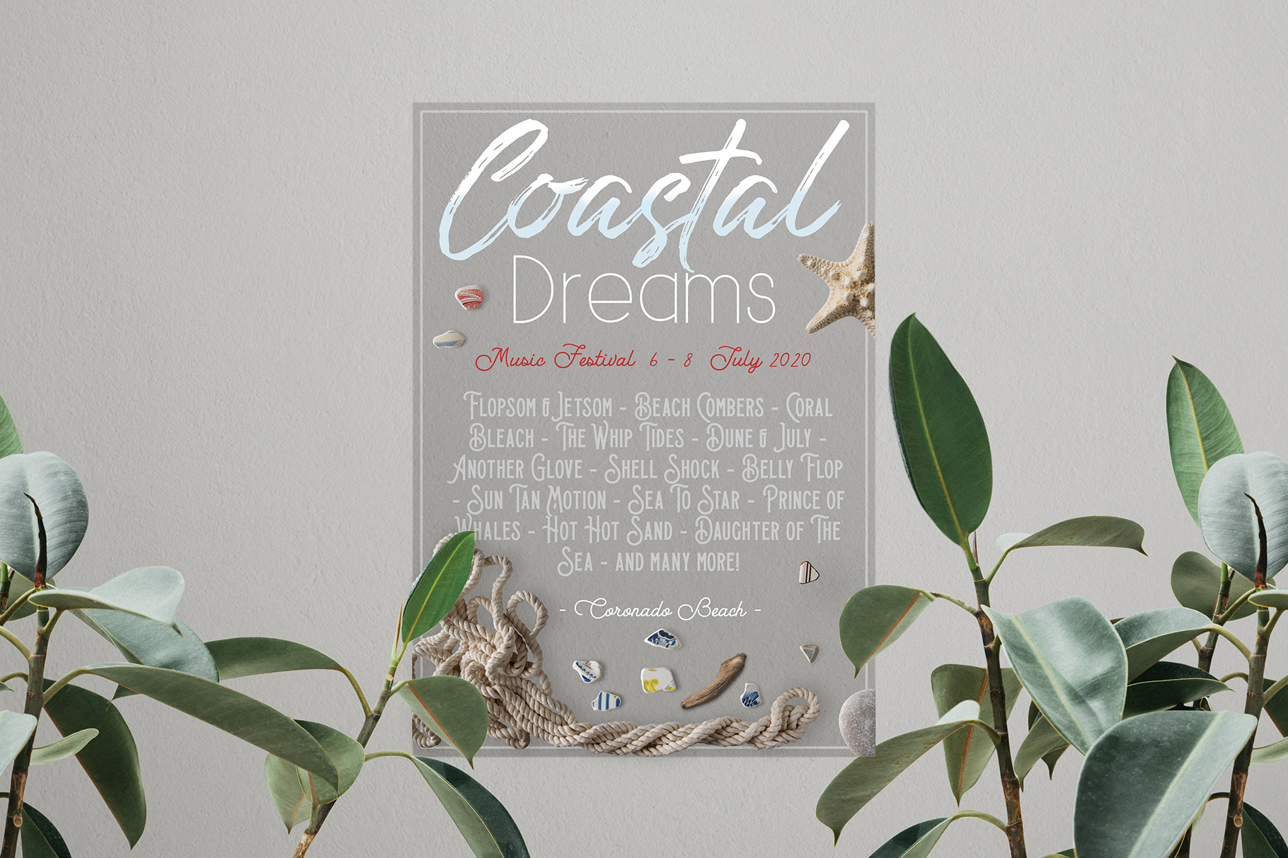 Coastal Dream Nautical Scene Creator - Isolated Elements example image 22