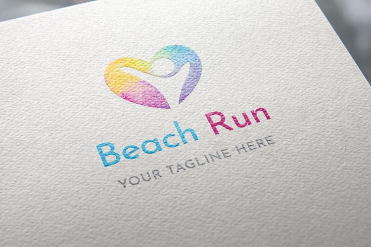 Beach Run Logo example image 3