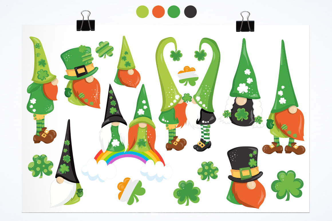 Lucky Gnomes graphic and illustrations example image 3