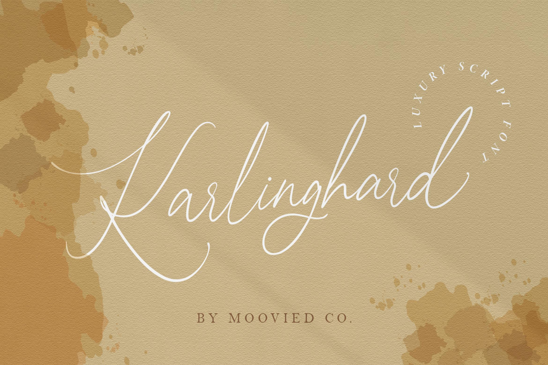 Karlinghard Font example image 1