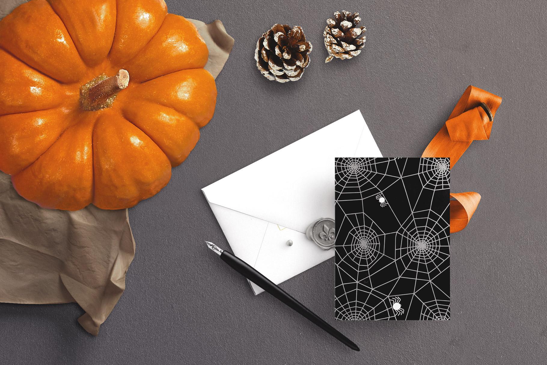 6 Huge Seamless Watercolour Halloween Textures example image 5