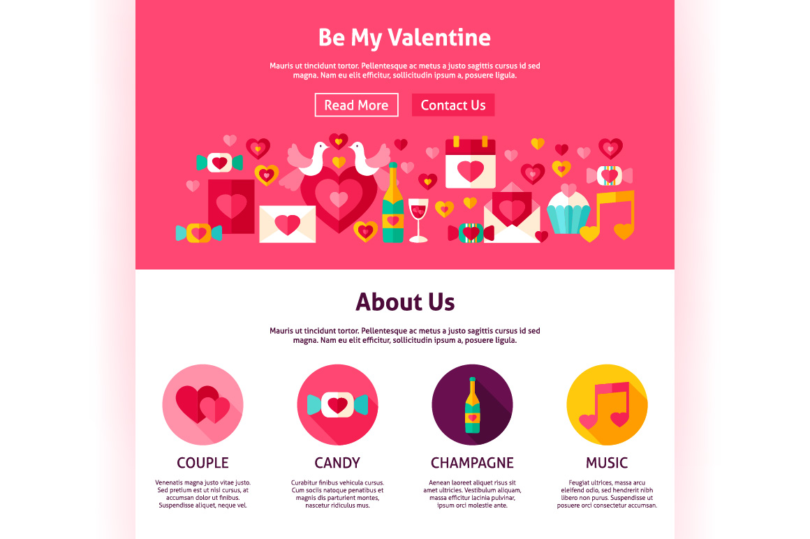 Valentine's Day Web Banners example image 9