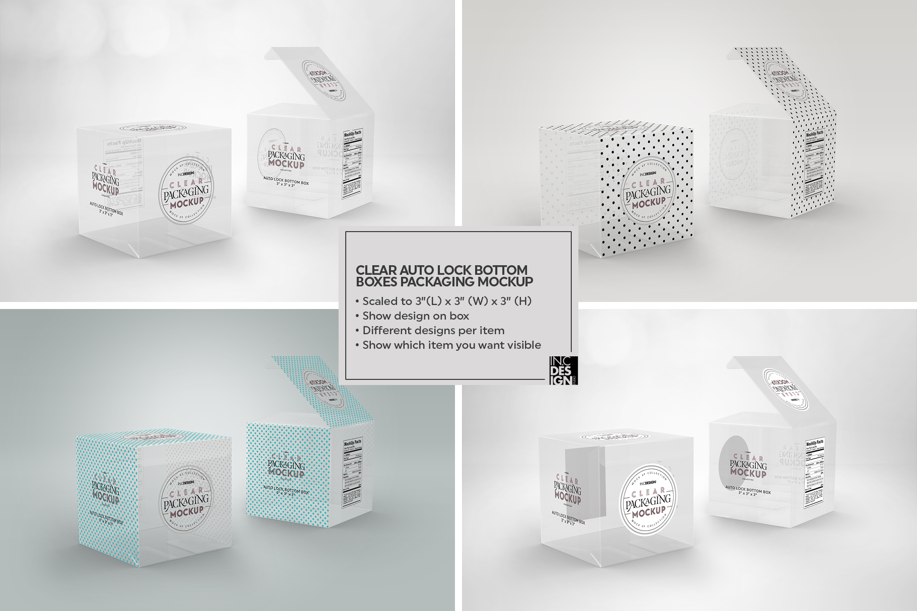 VOL.7 Clear Packaging Mockup Collection example image 25
