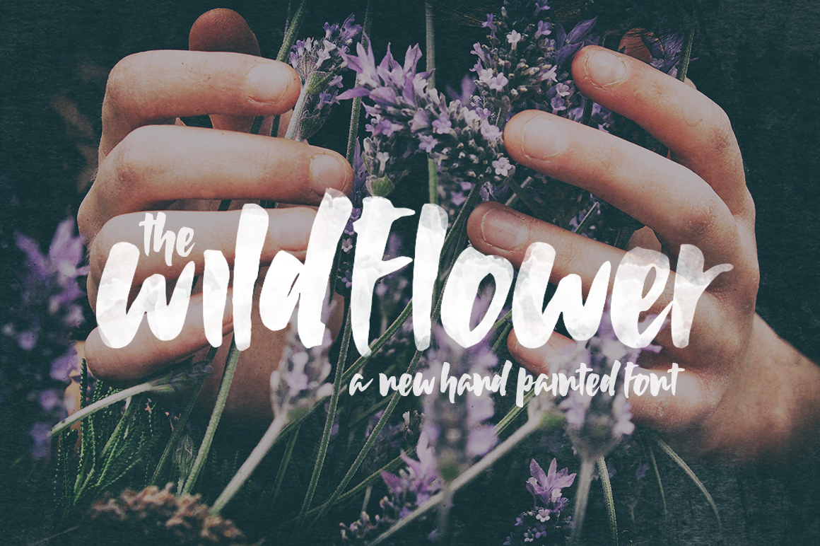 Wildflower Font example image 1