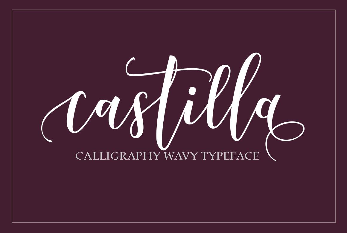 Castilla Script example image 1