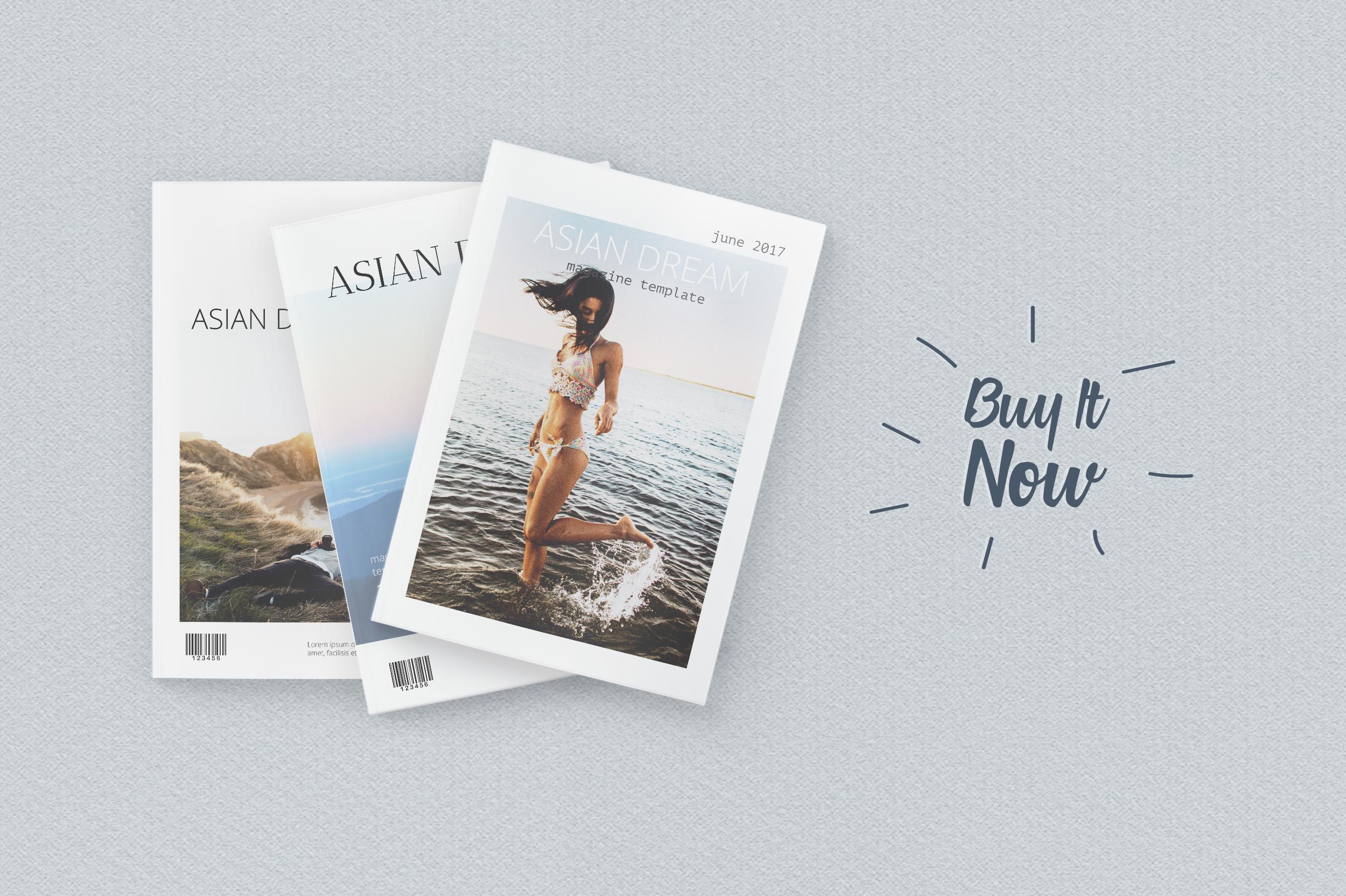 Asian Dream Magazine Template example image 7
