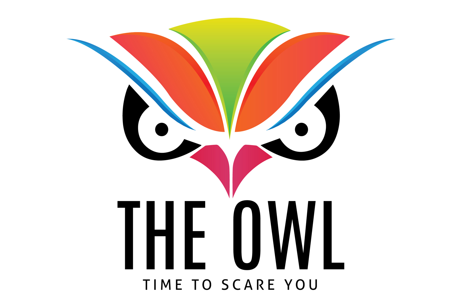 Owl Face Logo Template example image 5