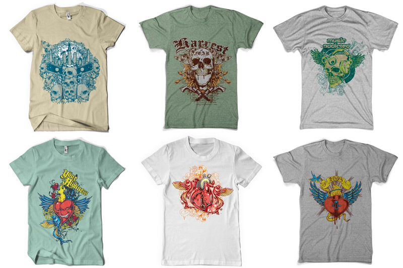 100 T-shirt Designs Vol 2 example image 8