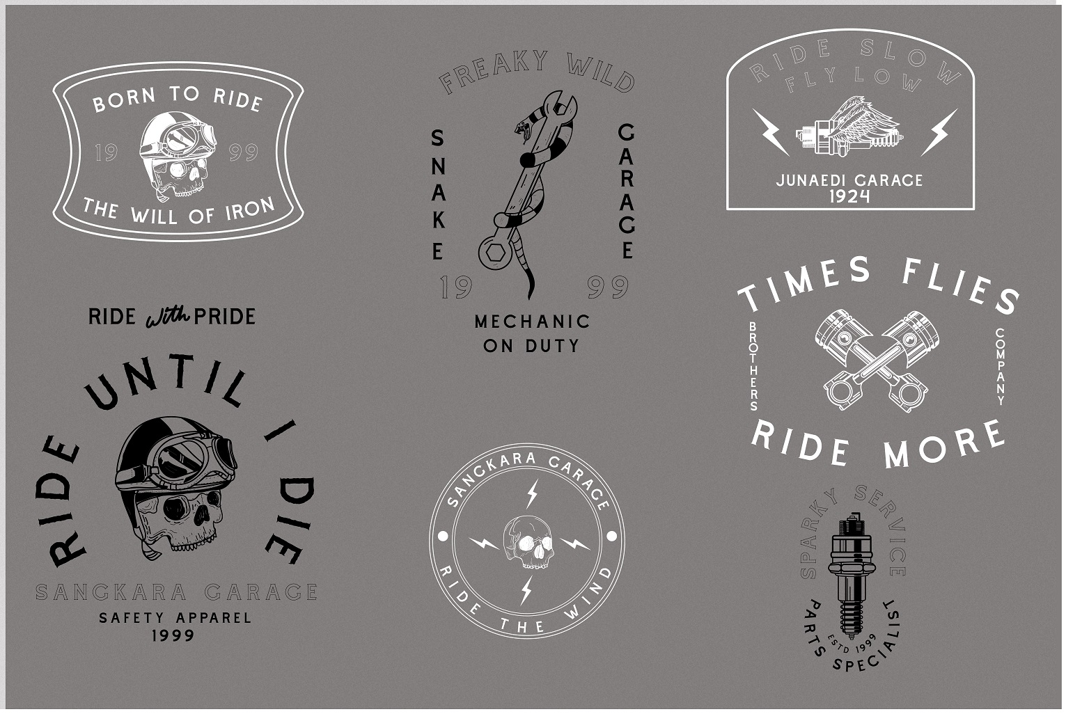 Cascade Motorcycle font example image 5