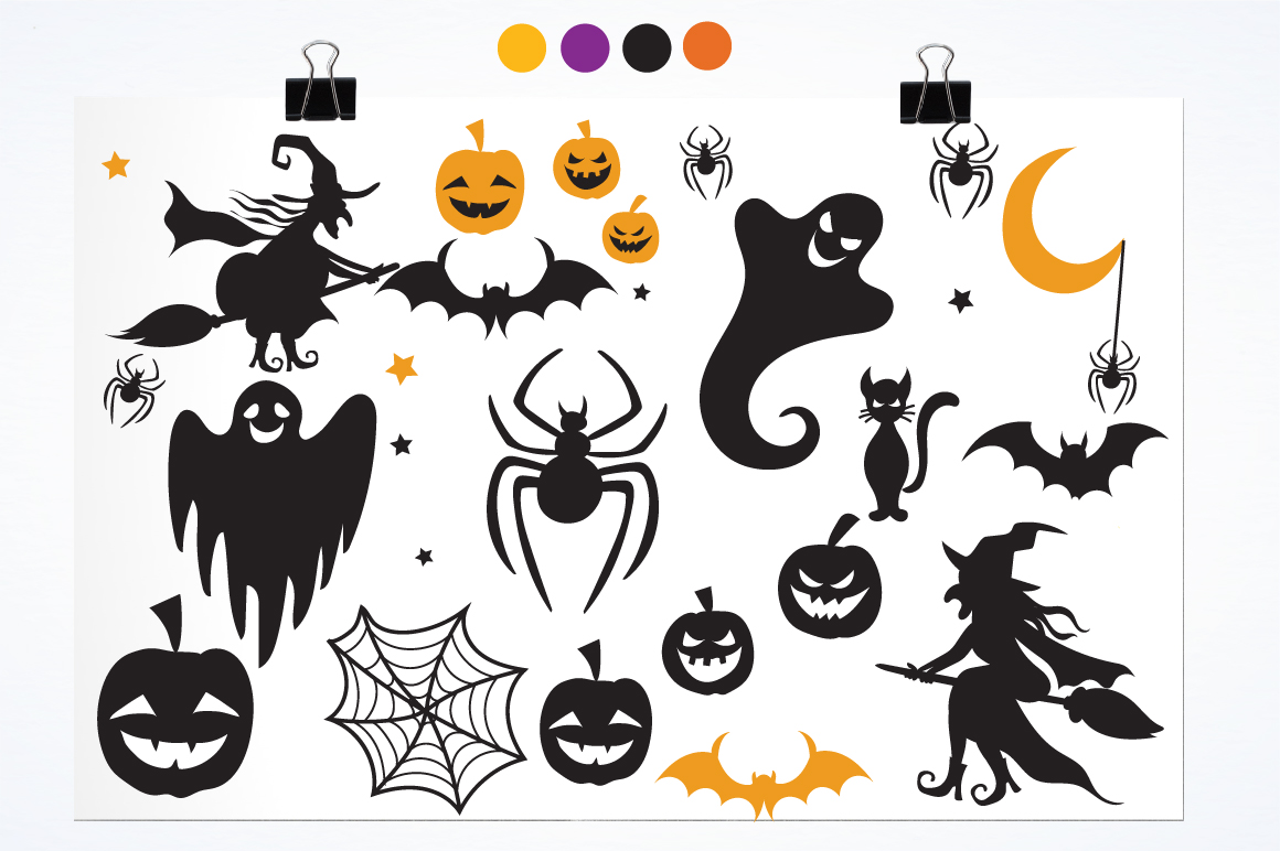 Halloween Fun graphics and illustrations example image 2