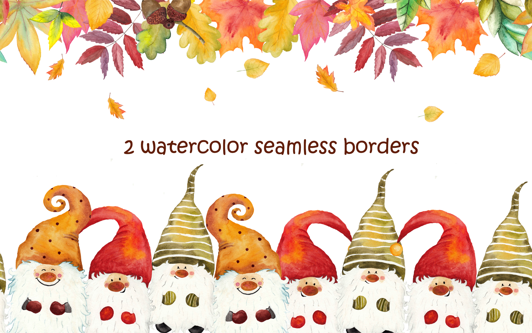 Watercolor Gnomes collection example image 7