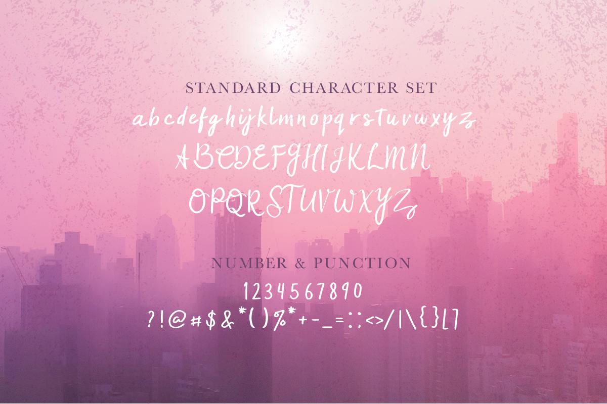 Zafira Handwritten Font example image 3