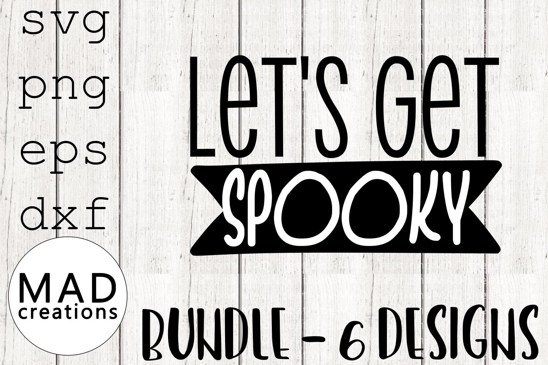 Halloween Bundle- Cut File example image 7