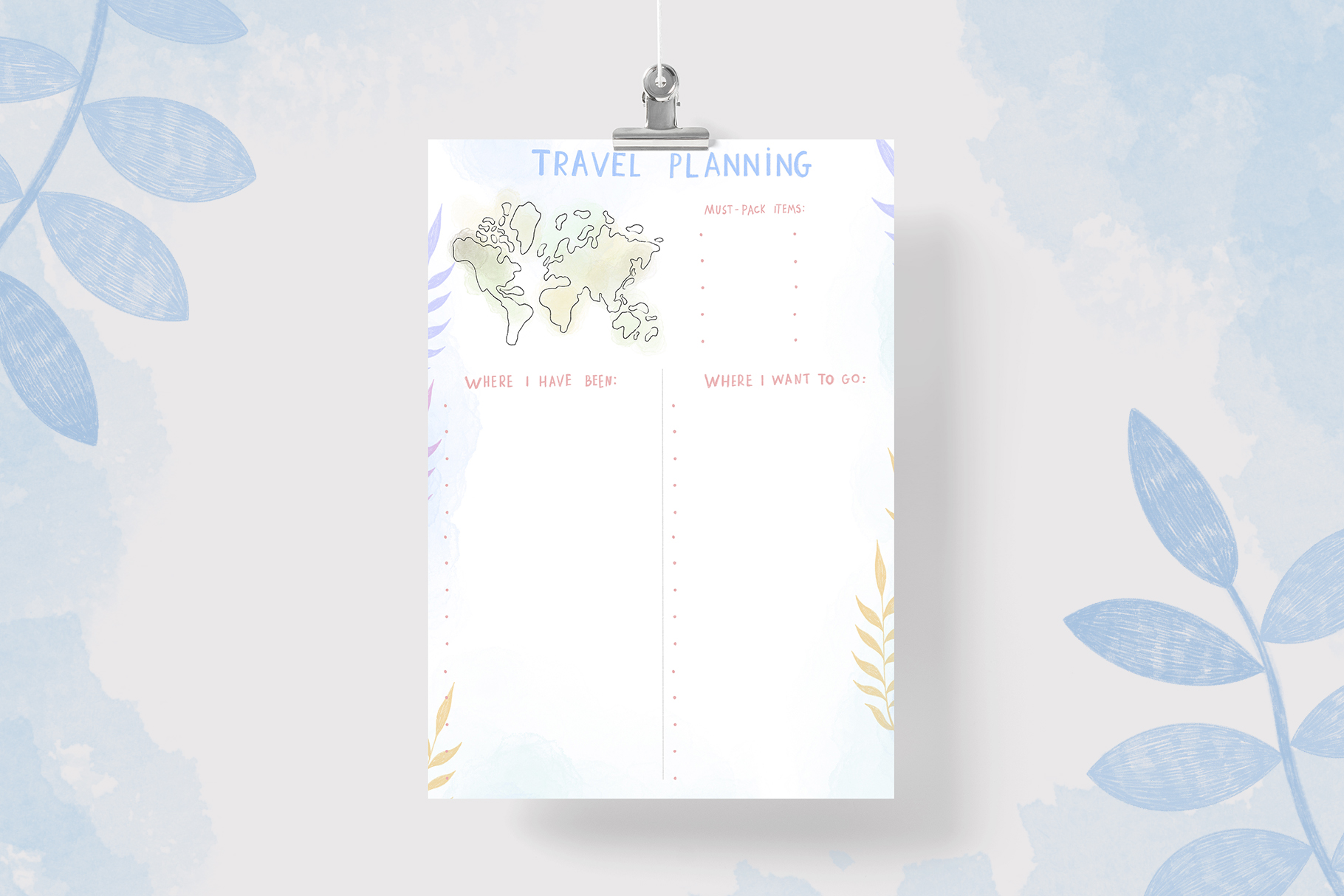 Planner and Calendars 2020 example image 7