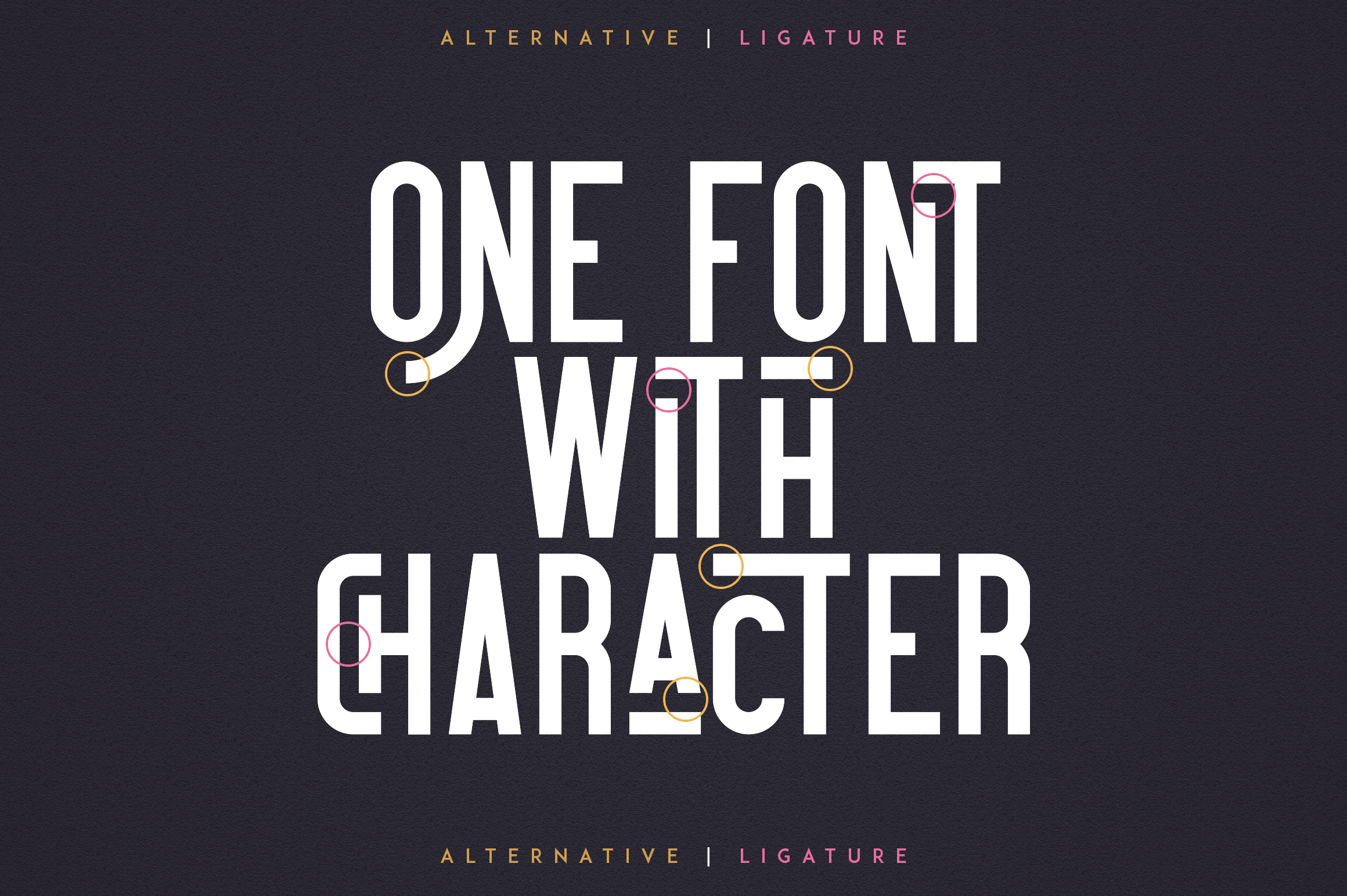 Everyday font collection 8in1 example image 3