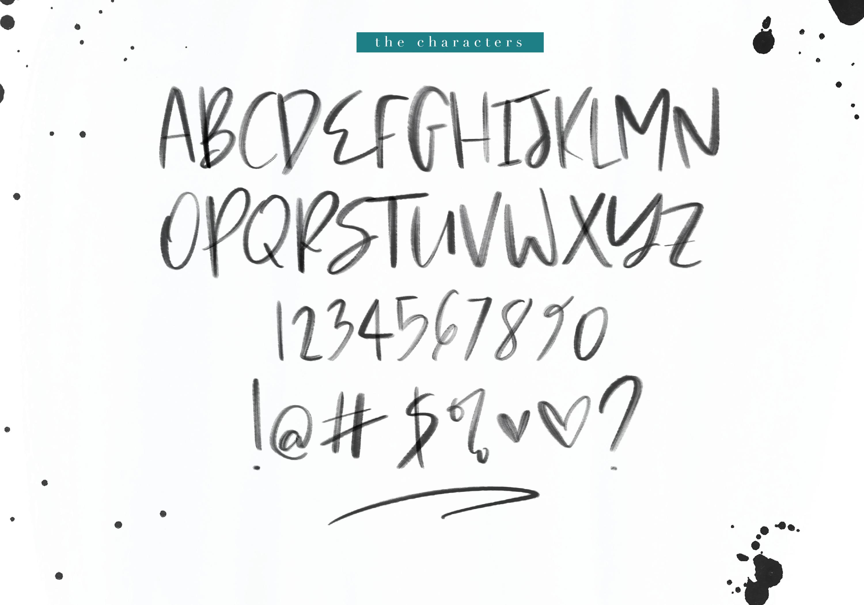 Mink Beach Font & SVG Font example image 21