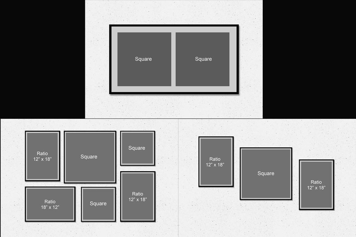 Framed Wall Art Mockup v1 example image 4