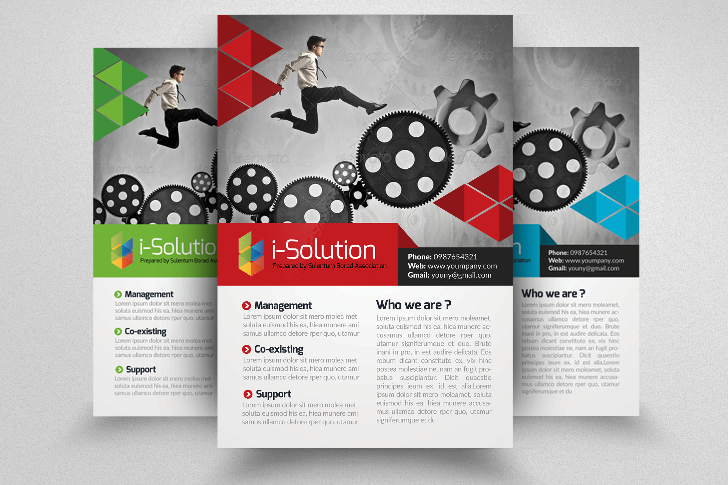 7 Corporate Business Flyers Bundle example image 2