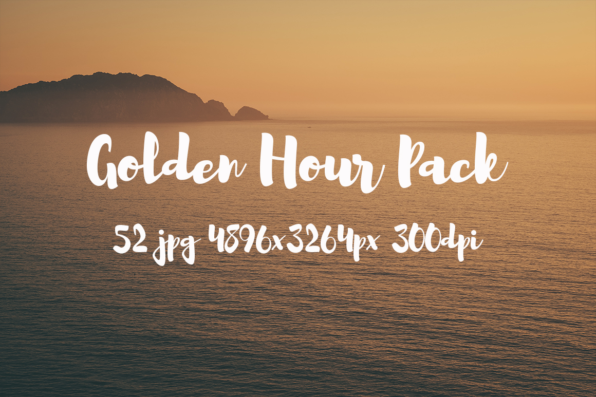 Golden hour Pack example image 29