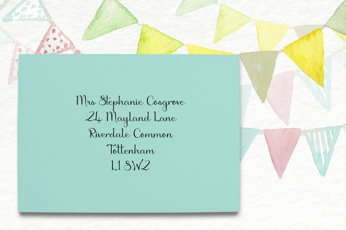 Birthday Script Font example image 2