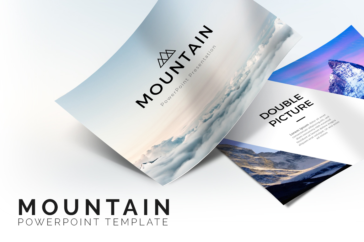 Mountain - Creative Presentation example image 1
