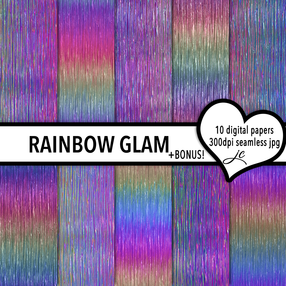 Rainbow Glam example image 1