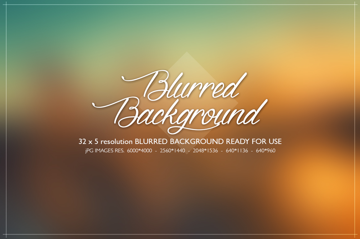 Blurred background collection example image 1