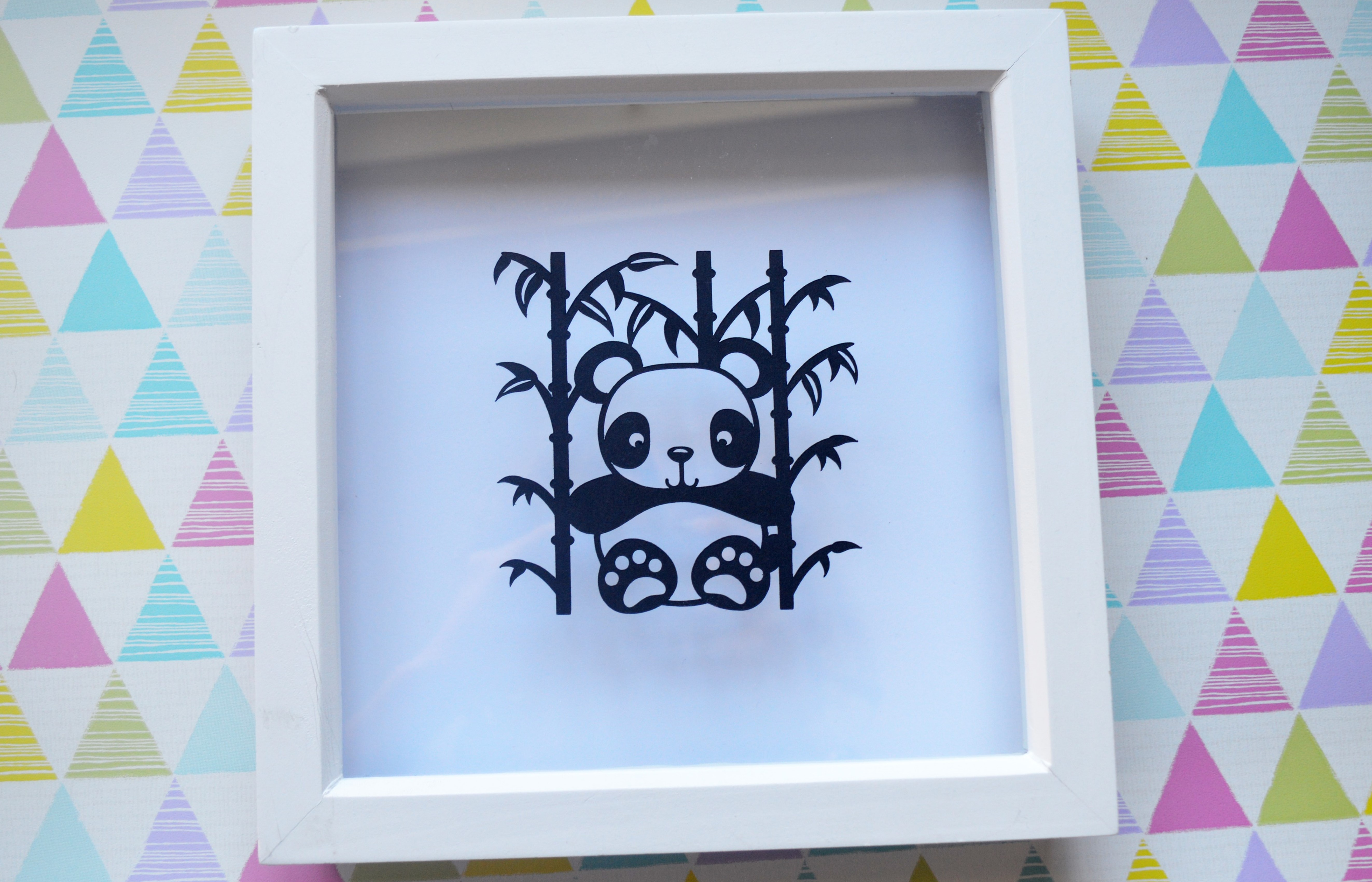 3 Panda Paper Cut SVG / DXF / EPS Files example image 3