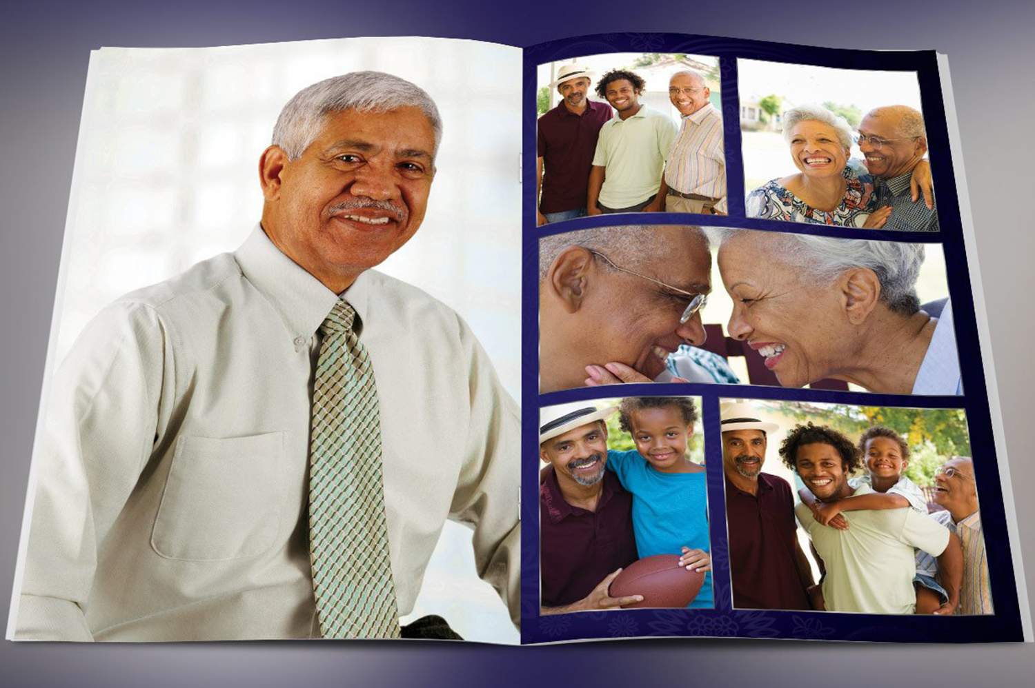 Dignity Funeral Program Template Bundle Publisher Word example image 4