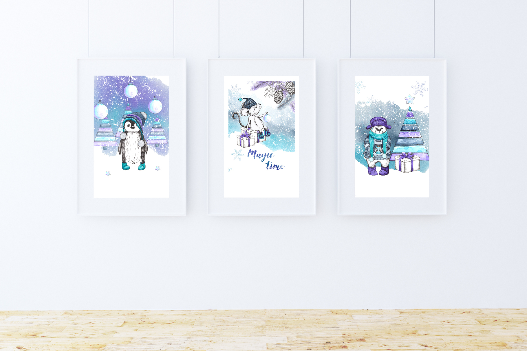 Let it snow. Winter collection example image 5