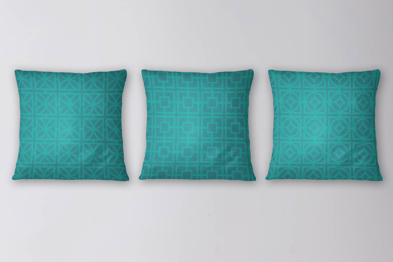 Teal Retro Breeze Block Patterns example image 2