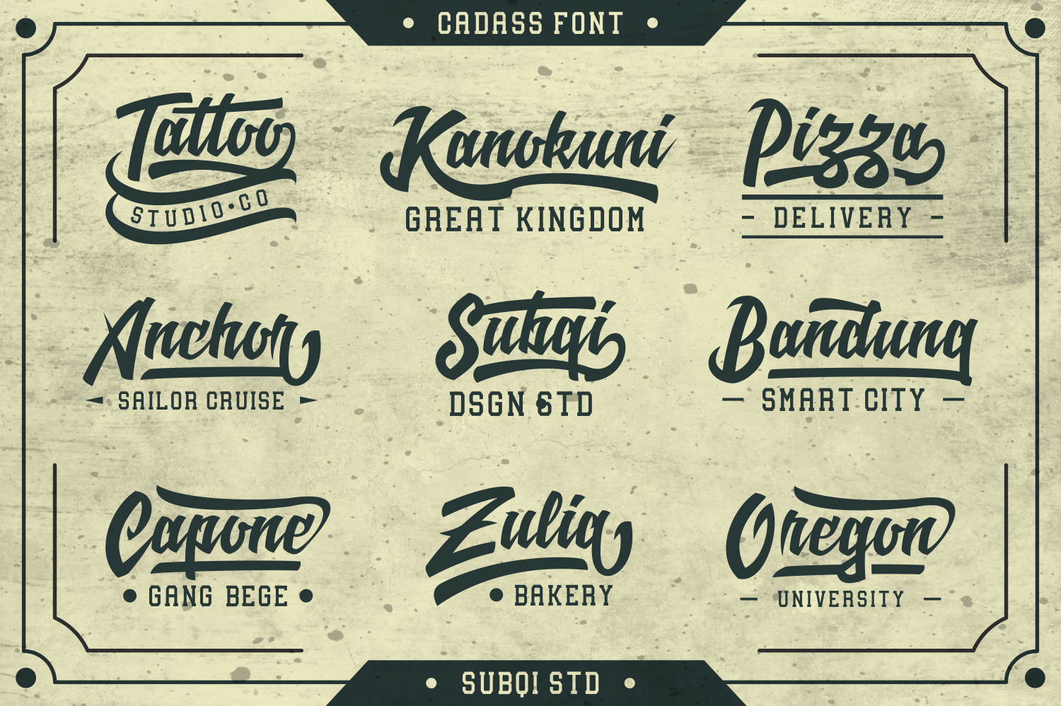 Cadass Font Duo 70% OFF example image 4