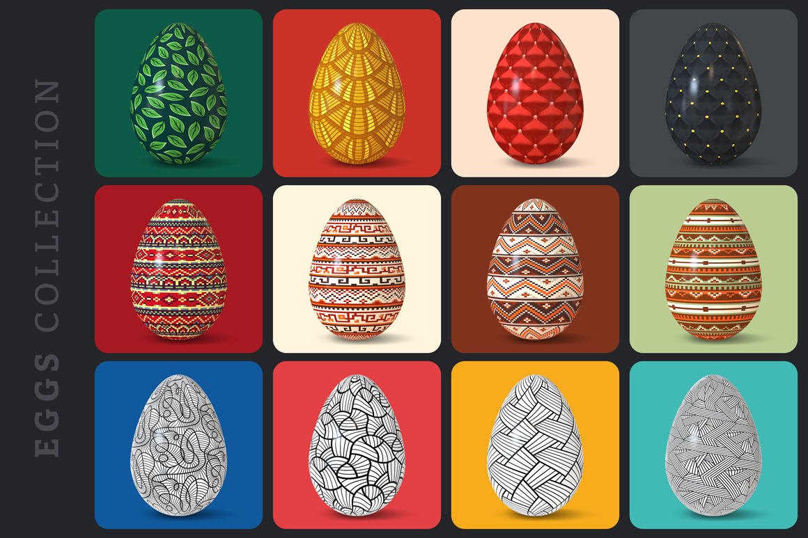 Easter Egg Mockups and Images example image 24