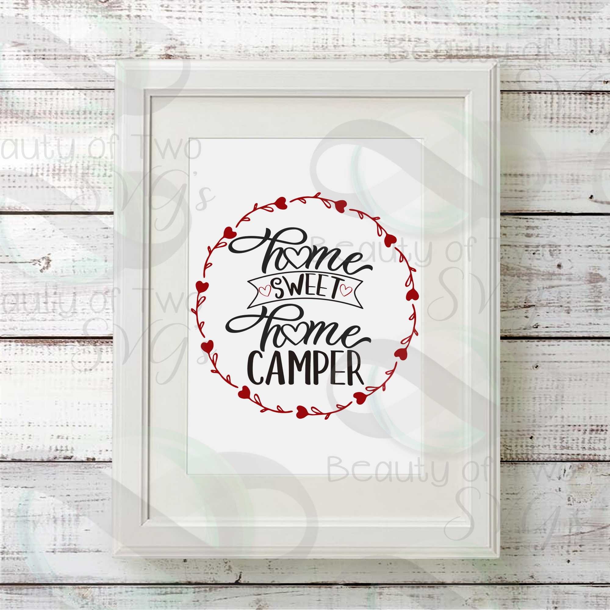 Home sweet Home Camper svg, Camper svg, camper sign svg example image 2