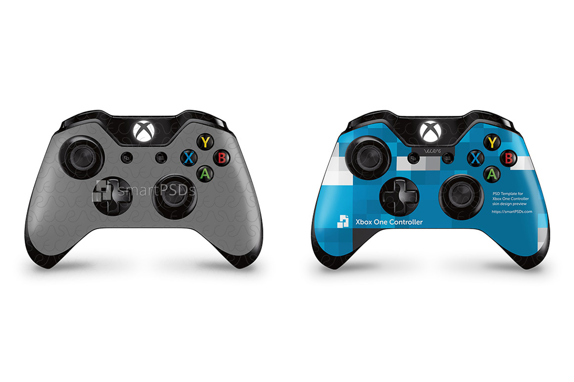 Xbox One Controller Skin Design Template example image 1