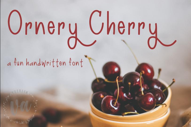 Ornery Cherry example image 1